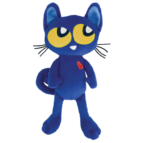 """Pete the Kitty Doll - 8-1/2"""" H"""