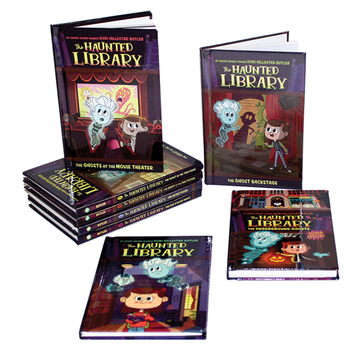 The Haunted Library 10 Book Set