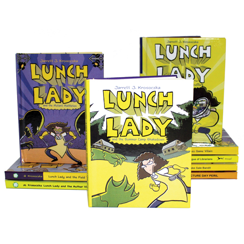 Lunch Lady Graphic Novel 10 Book Set