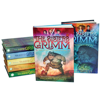 The Sisters Grimm 9 Book Set