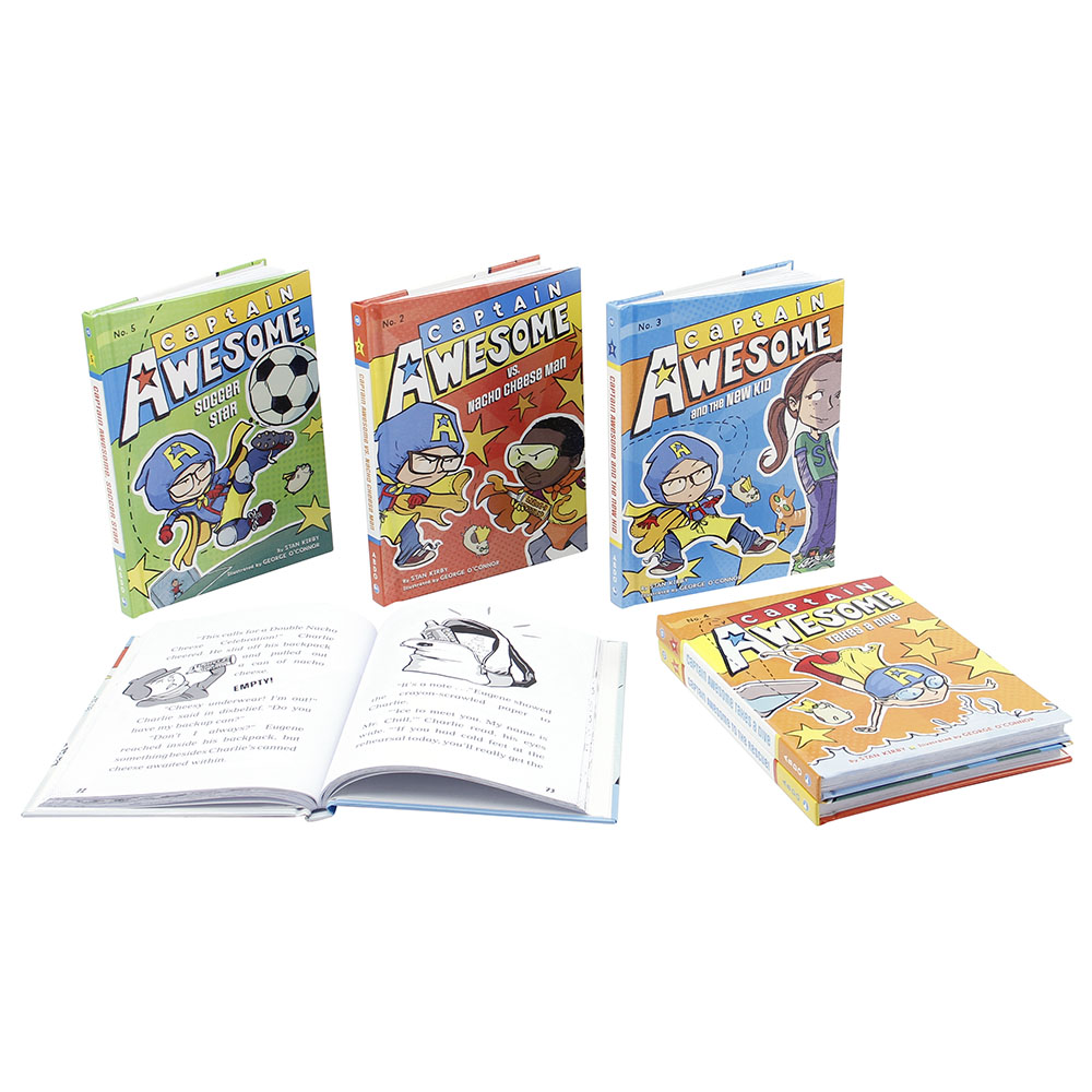 Captain Awesome 6 Book SetNew!