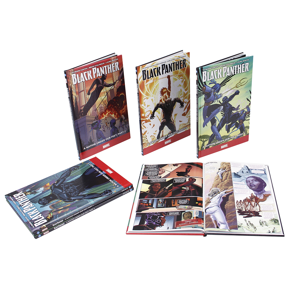 Black Panther Graphic Novel 6 Book Set