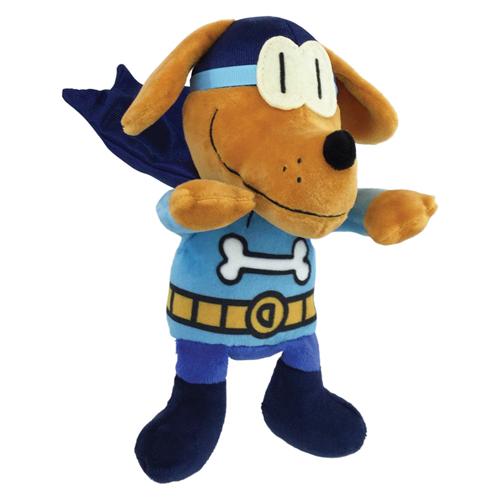 "Dog Man Bark Knight Plush Doll - 9"" HNew!"