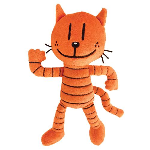 "Dog Man's Petey Cat Plush Doll - 9"" HNew!"