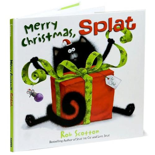 Merry Christmas, Splat Book
