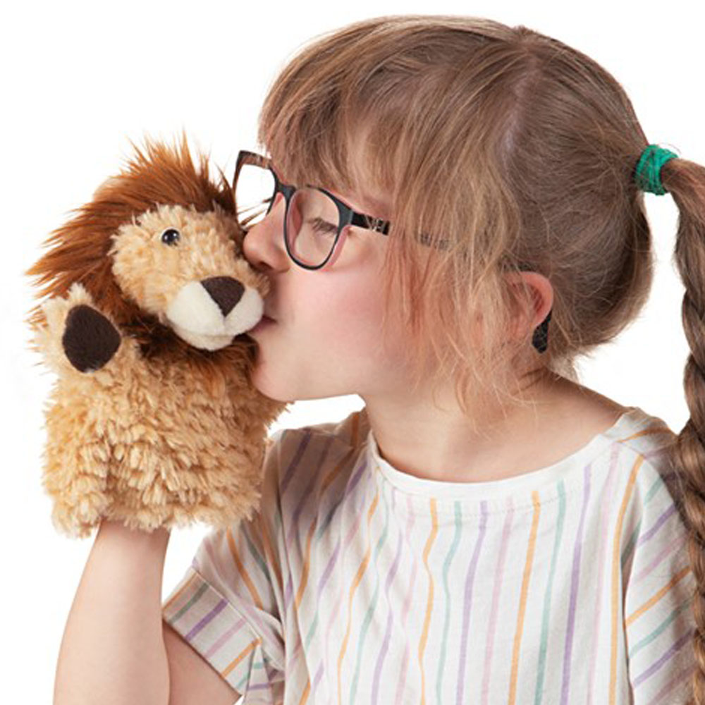 Folkmanis® Lion Little Hands Puppet - CLEARANCE -  Save 57%