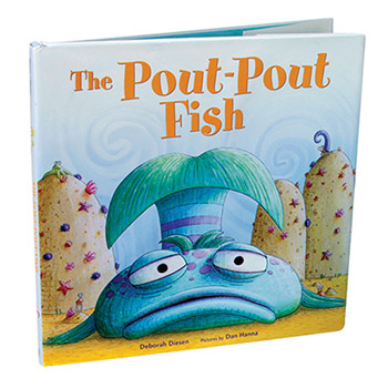 Main item numbers the pout pout fish book for The pout pout fish book