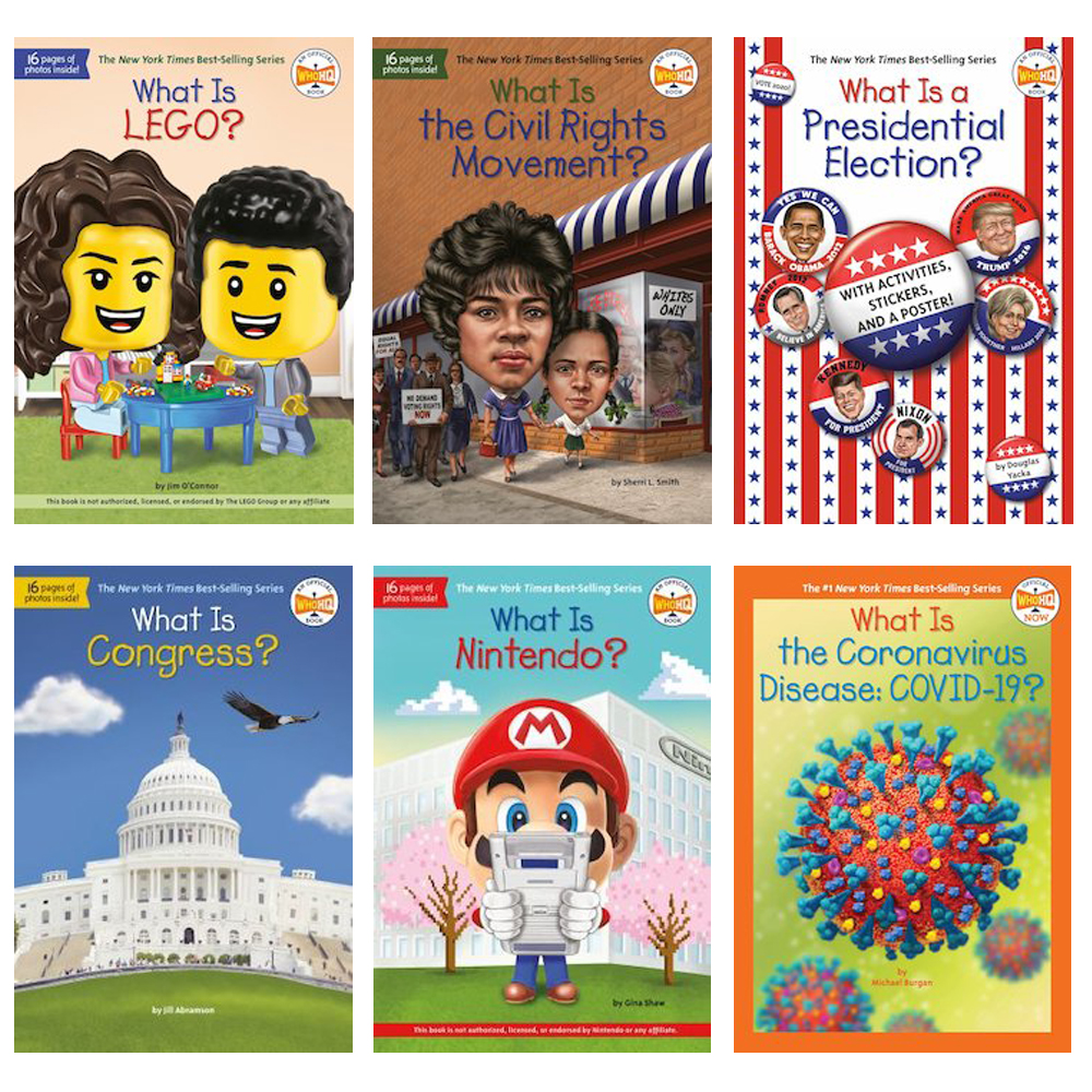 What Is…? 6 Books - Set 2