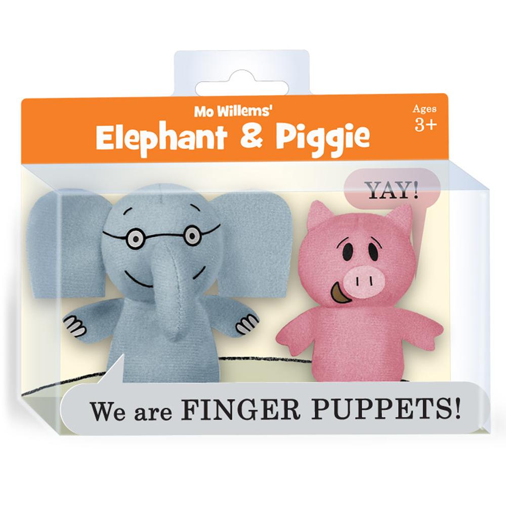 Elephant & Piggie Finger Puppet Set