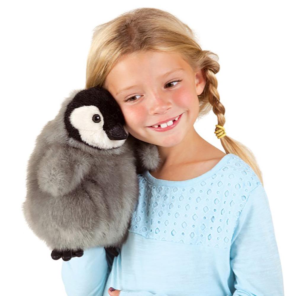 Folkmanis® Baby Emperor Penguin Hand Puppet