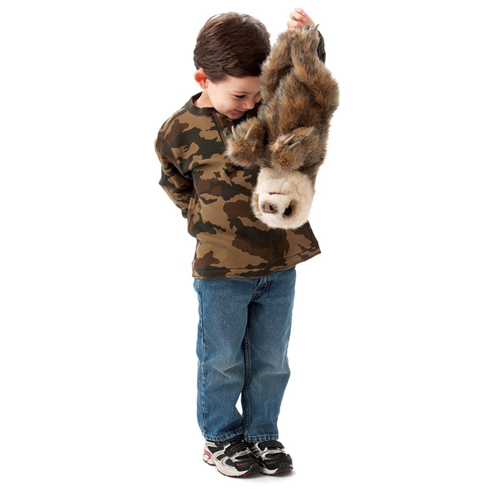 Folkmanis® Baby Sloth Hand Puppet