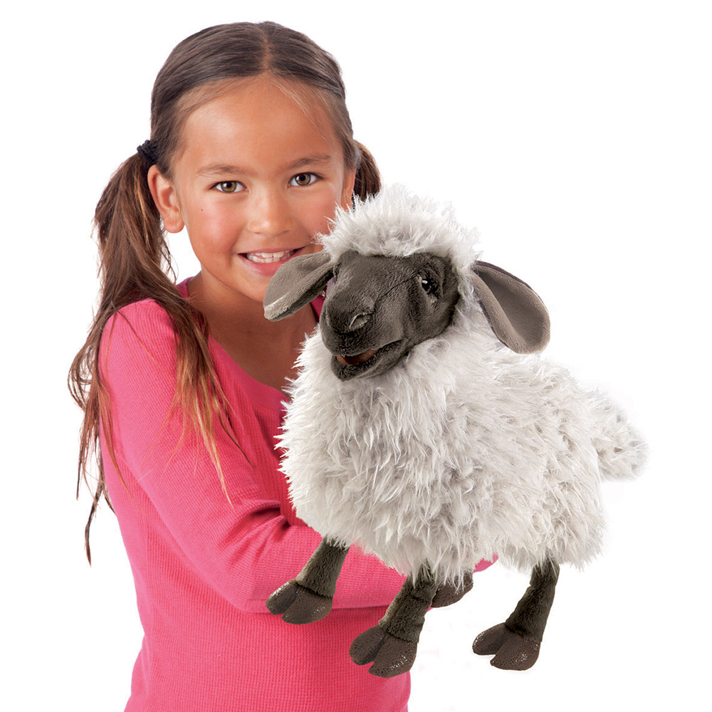 Folkmanis® Bleating Sheep Hand Puppet