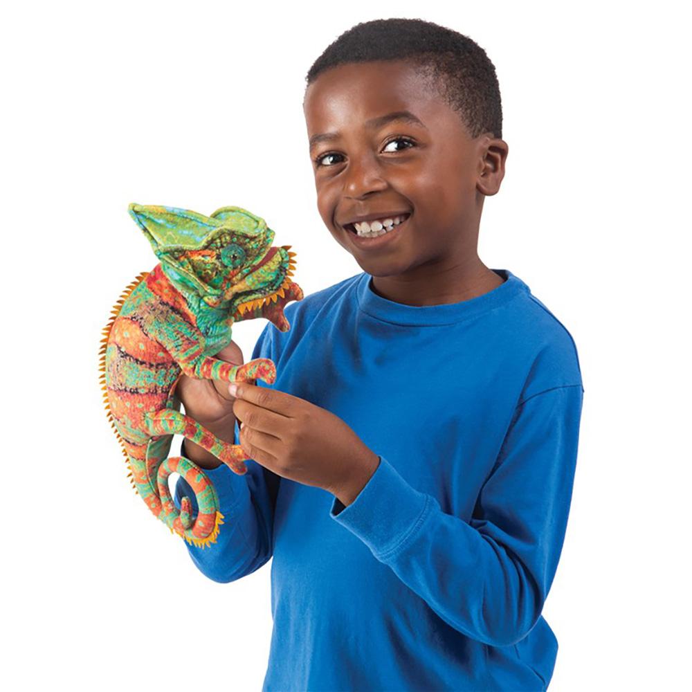 Folkmanis® Chameleon Hand Puppet