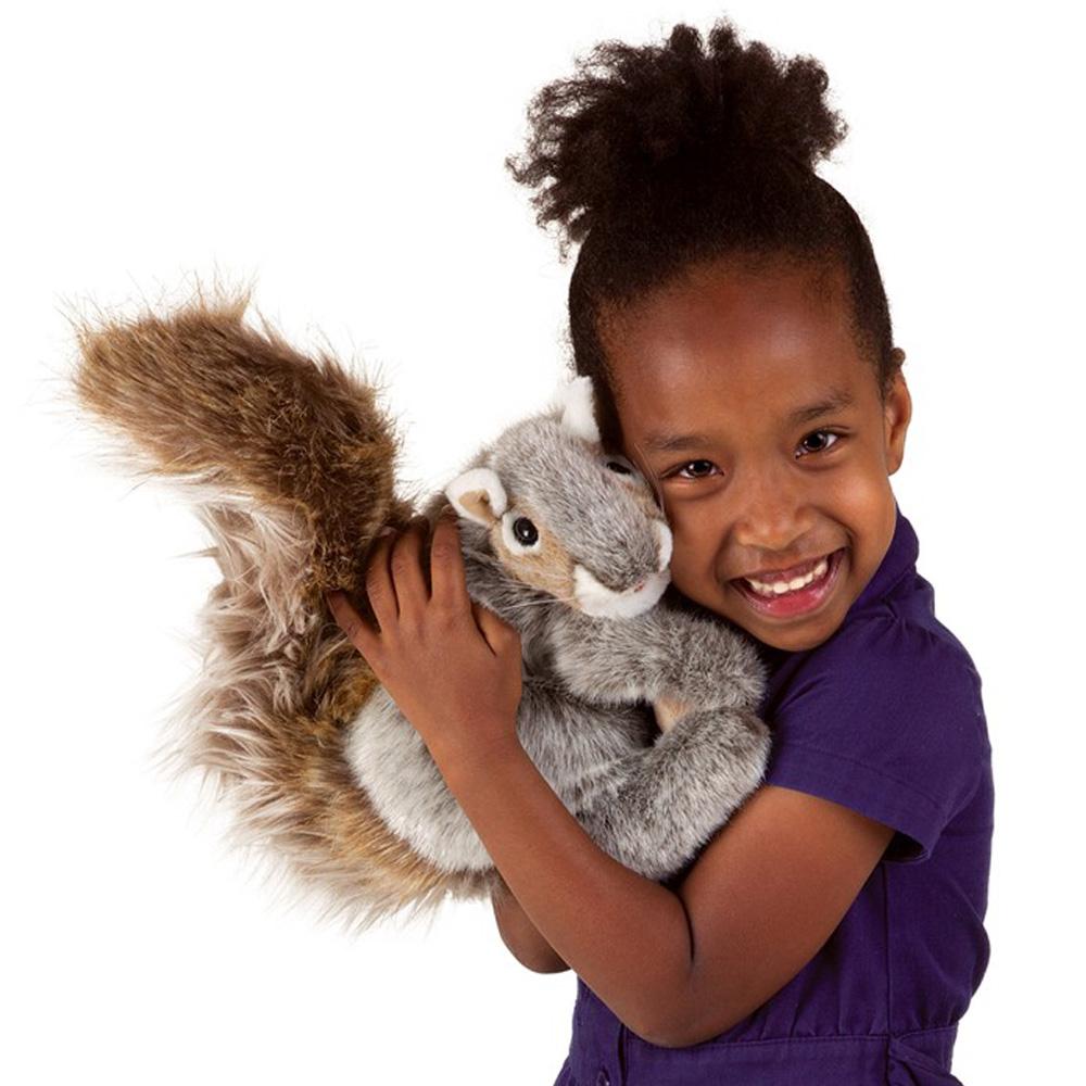 Folkmanis® Gray Squirrel Hand Puppet