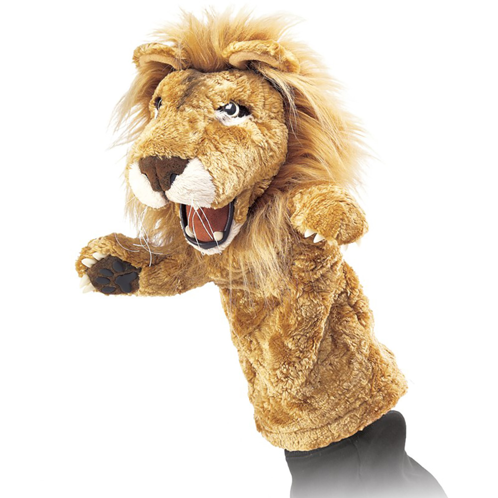 Folkmanis® Lion Stage Puppet