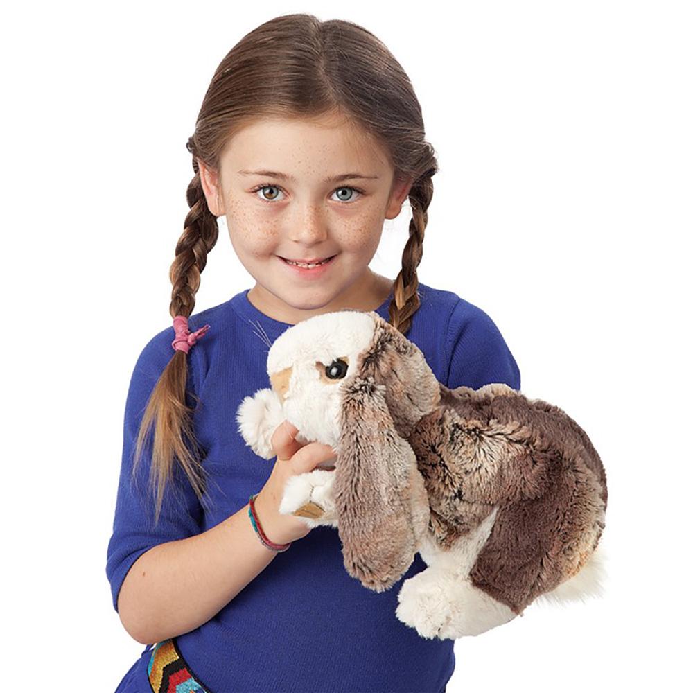 Folkmanis® Lop Baby Rabbit Hand Puppet