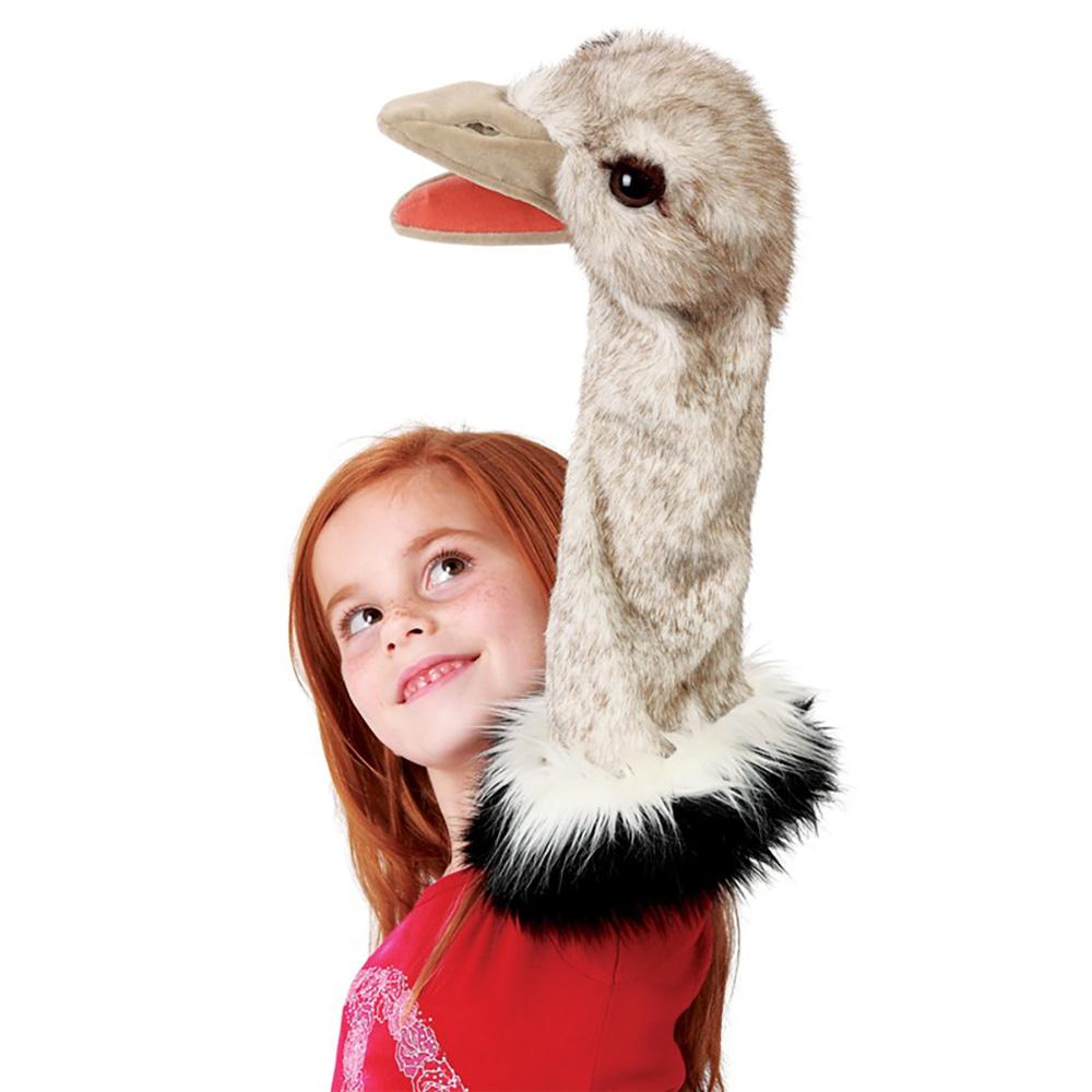 Folkmanis® Ostrich Stage Puppet