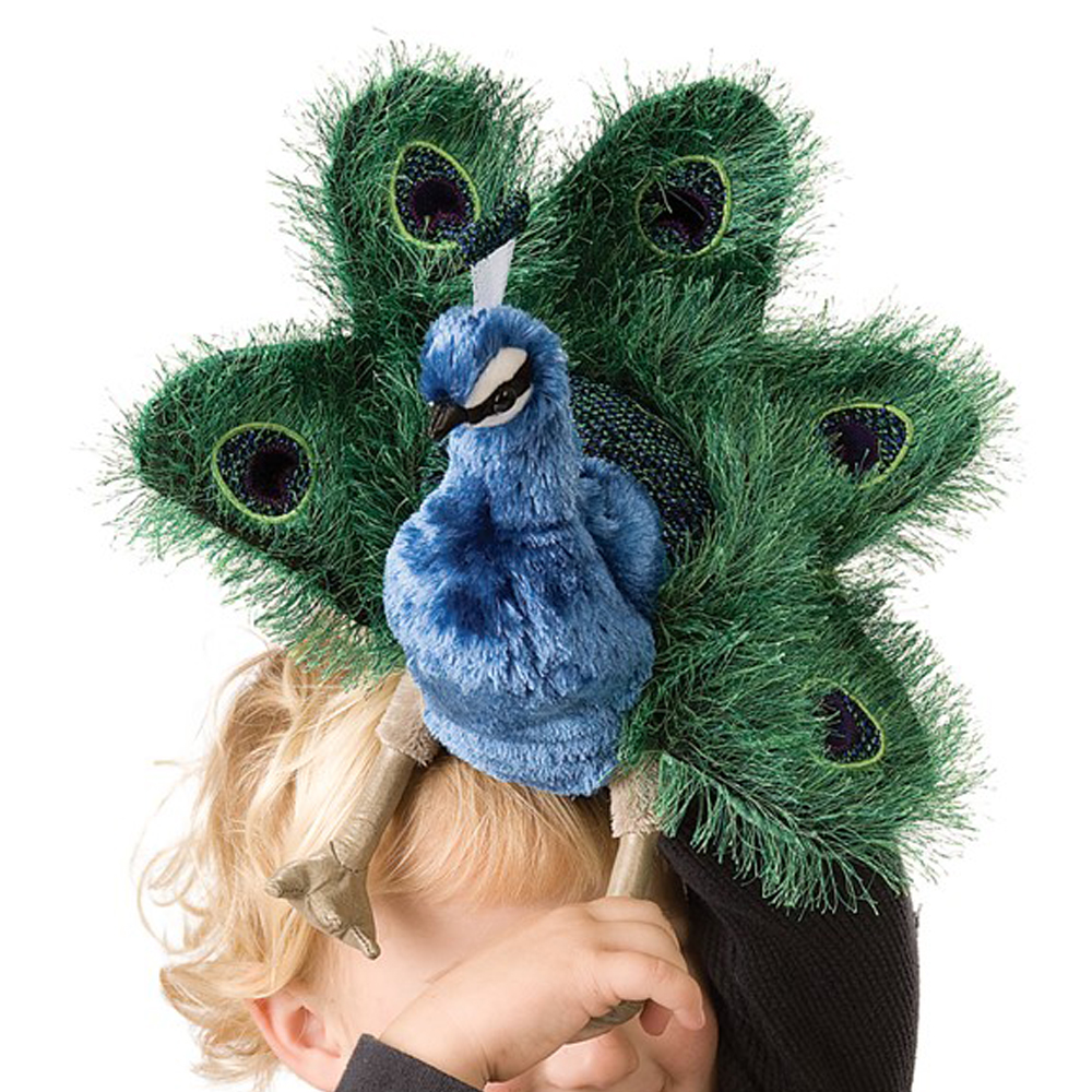 Folkmanis® Peacock Hand Puppet