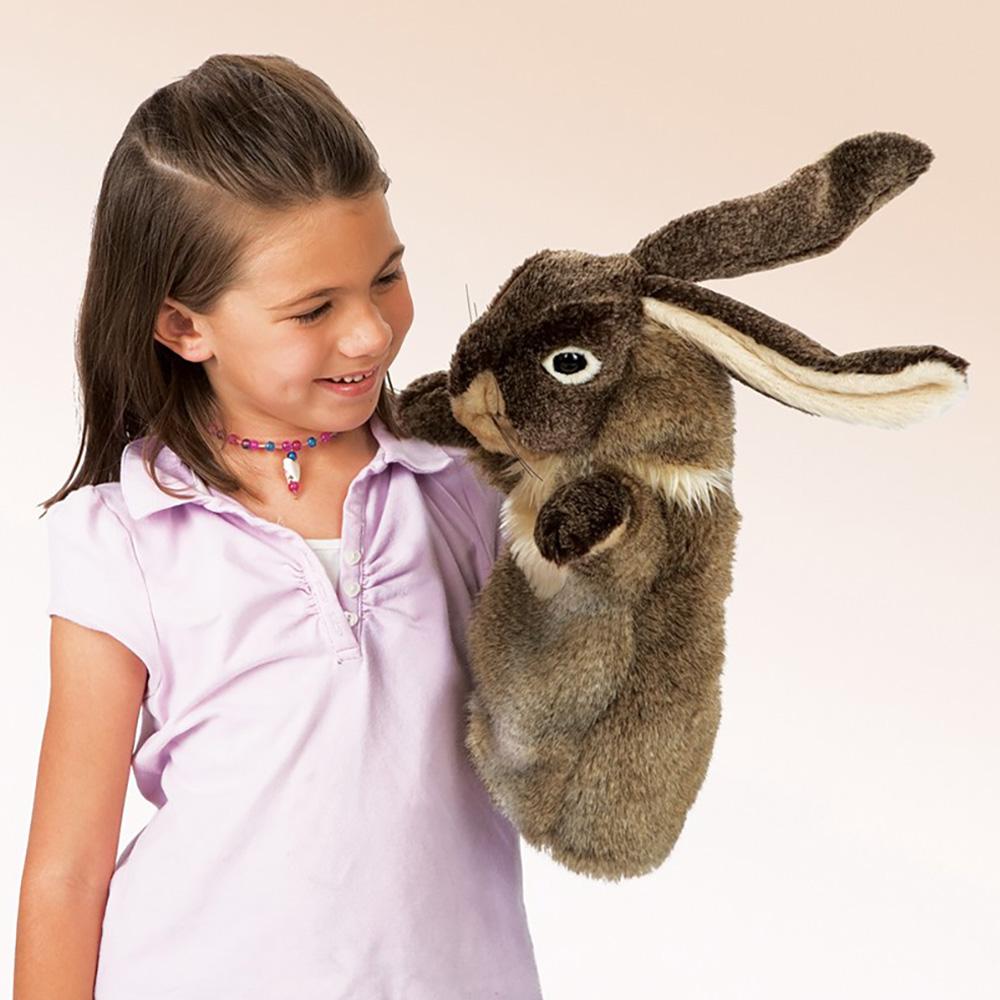 Folkmanis® Rabbit Stage Puppet