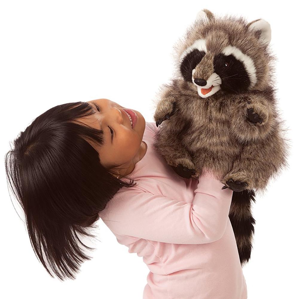 Folkmanis® Raccoon Hand Puppet