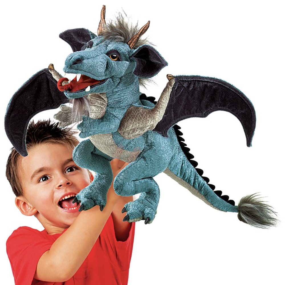 Folkmanis® Sky Dragon Hand Puppet