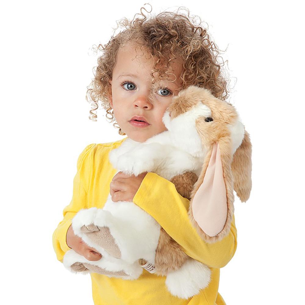Folkmanis® Standing Lop Rabbit Hand Puppet