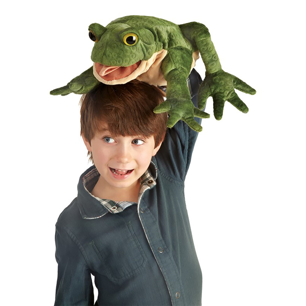 Folkmanis® Toad Hand Puppet