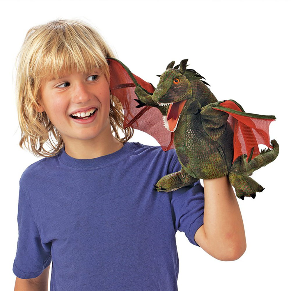 Folkmanis® Winged Dragon Hand Puppet