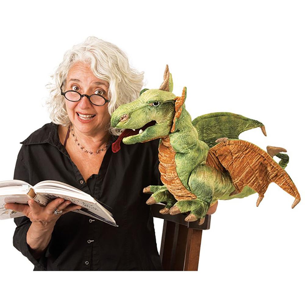 Folkmanis® Wyvern Dragon Hand Puppet