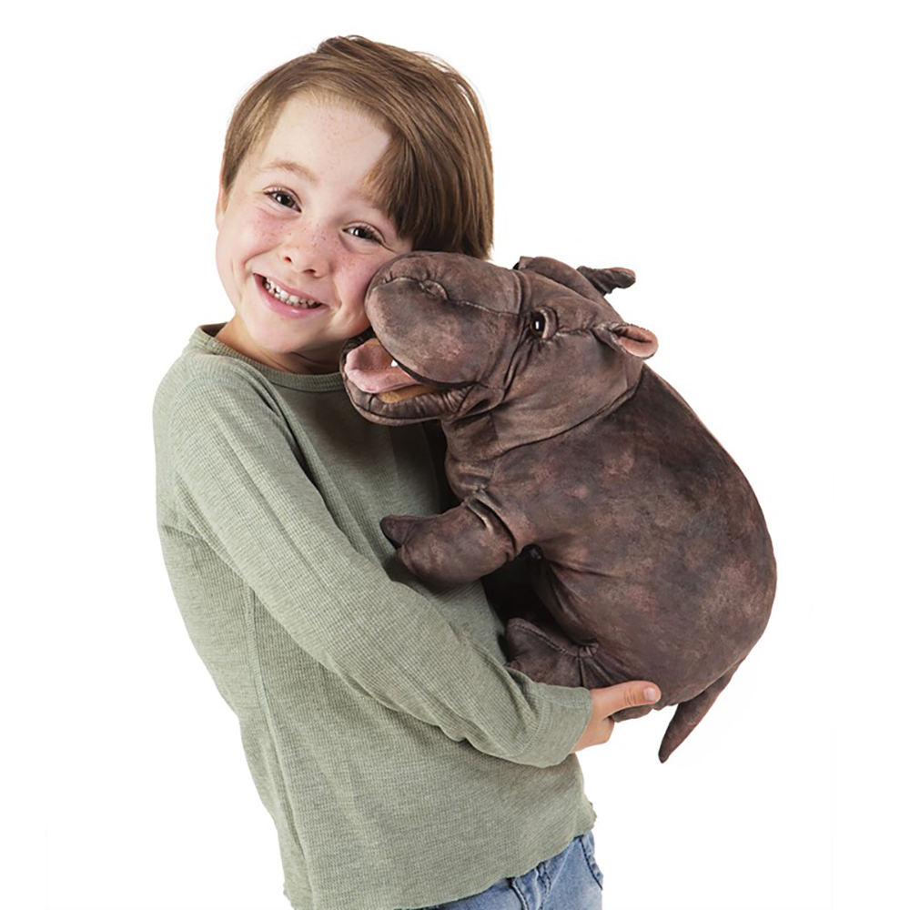 Folkmanis® Baby Hippo Puppet