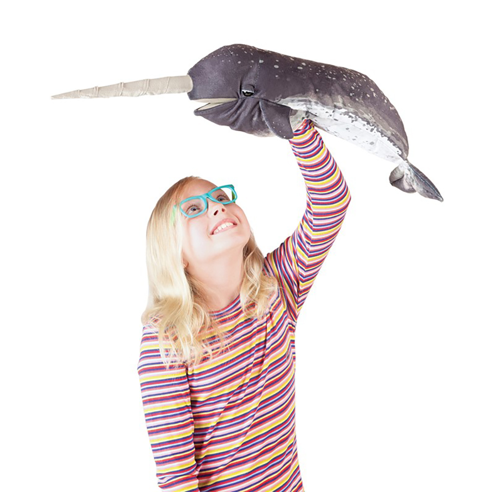 Folkmanis® Narwhal Puppet