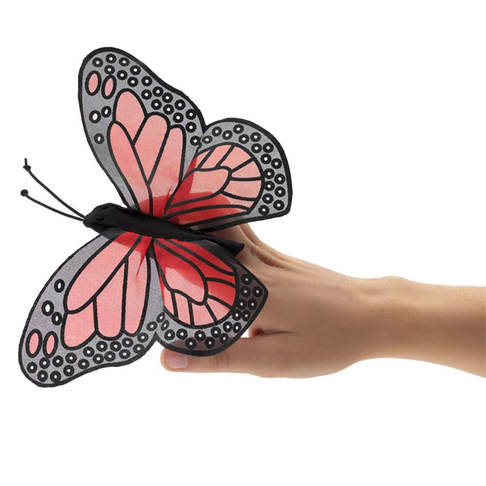 Folkmanis® Mini Monarch Butterfly Finger Puppet