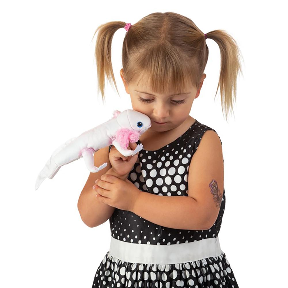 Folkmanis® Axolotl Finger Puppet
