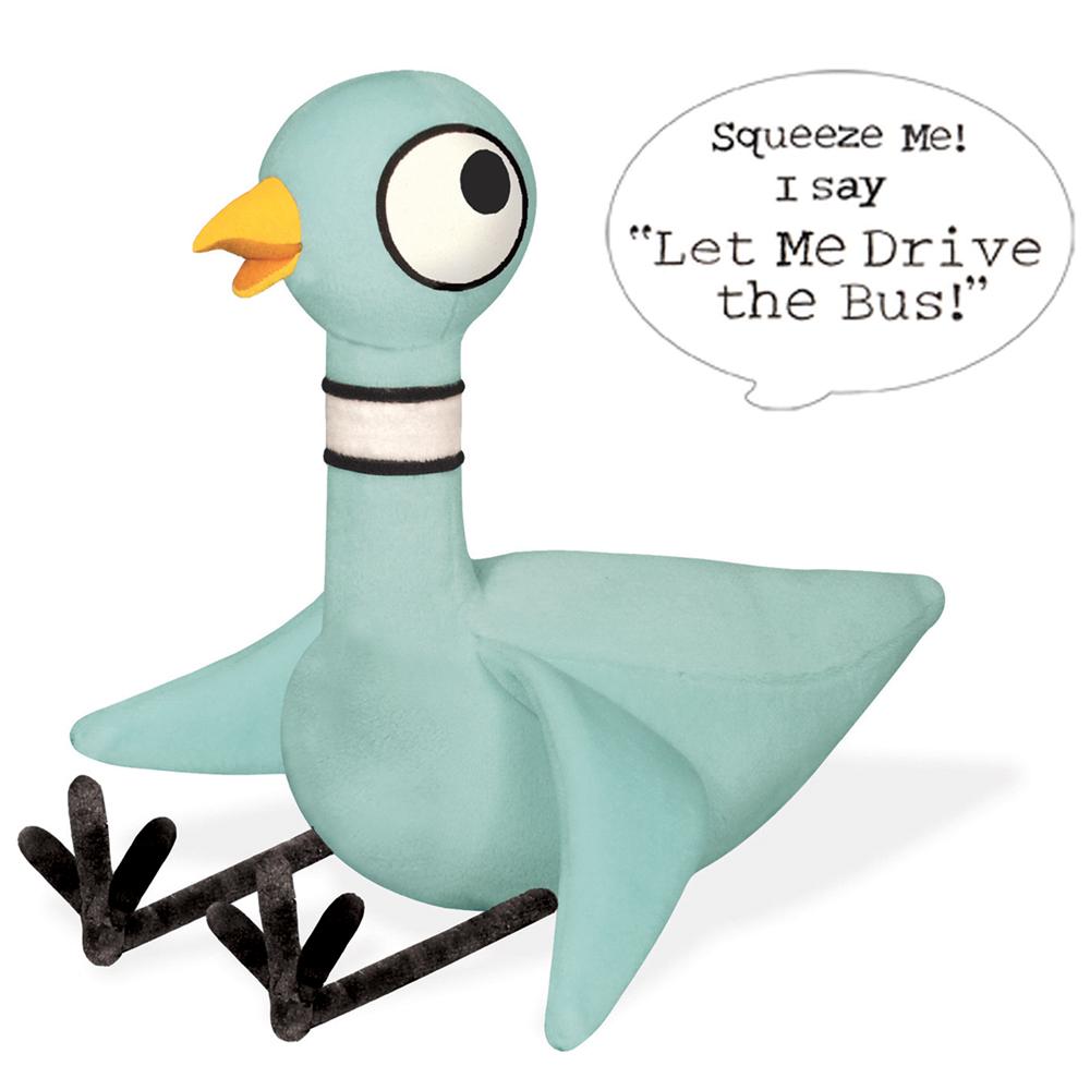 Talking Pigeon Plush