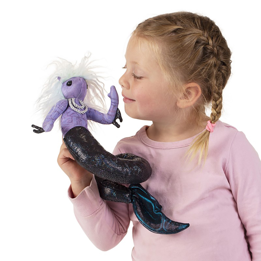 Folkmanis® Sea Nymph Finger Puppet