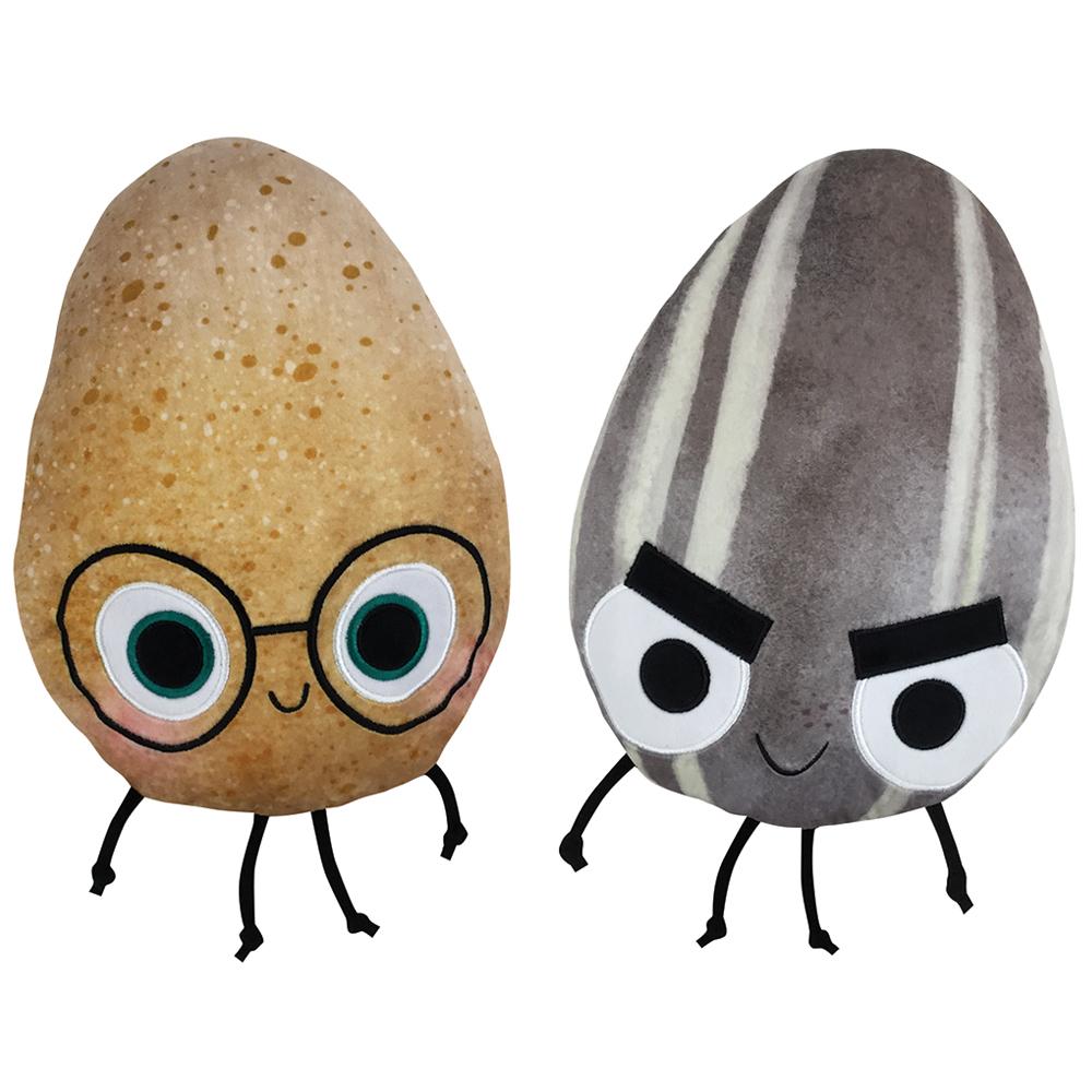 The Good Egg, The Bad Seed Flip Plush