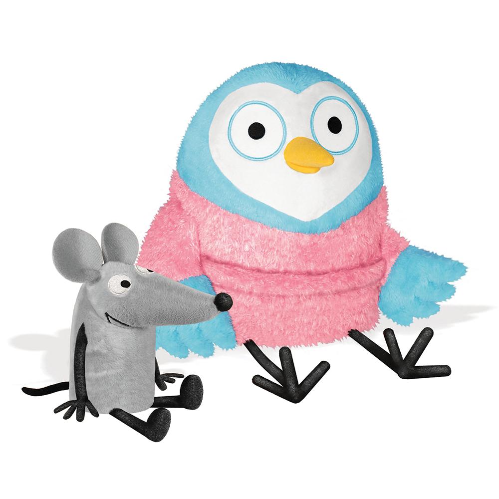 Good Night Owl & Noise Mouse Plush Dolls - 2/Set