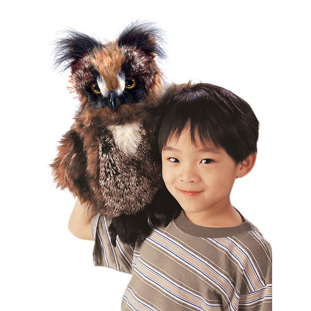 Folkmanis® Great Horned Owl Puppet