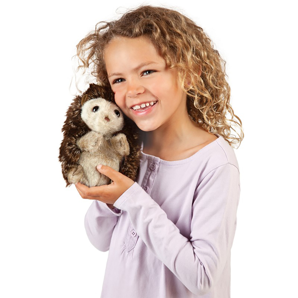 Folkmanis® Hedgehog Hand Puppet