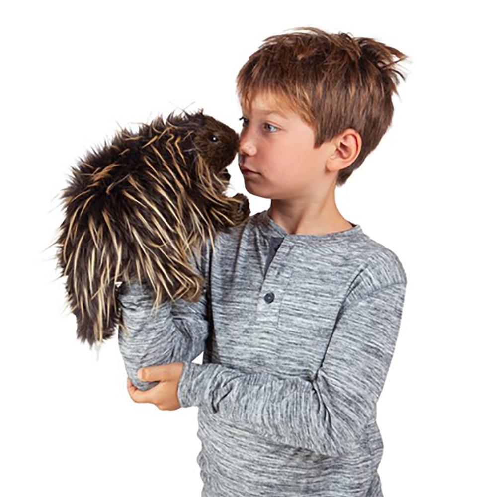 Folkmanis® Porcupine Hand Puppet