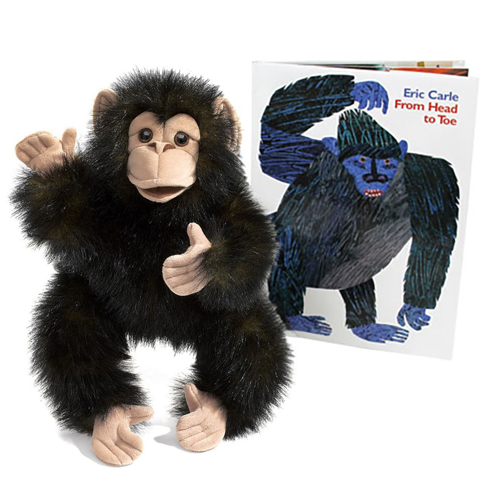 Eric Carle™ From Head to Toe Book and Puppet Set
