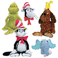 Dr. Seuss™ Plush Characters and Hand Puppets
