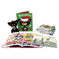 Bad Kitty 14 Books and Plush Set
