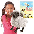 Brave Charlotte Book and Puppet Set