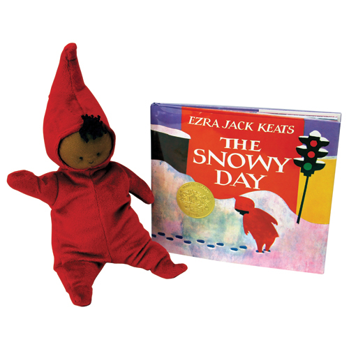 The Snowy Day Book and Doll Set