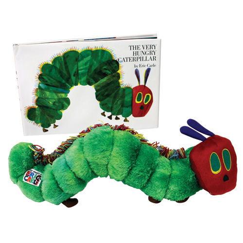 Eric Carle™ The Very Hungry Caterpillar Book and Plush Set