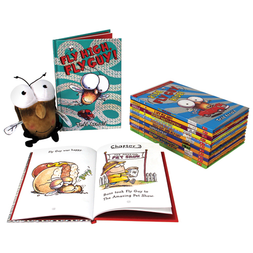 Fly Guy 16 Books and Doll Set