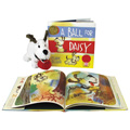A Ball For Daisy 2 Books and Plush Set