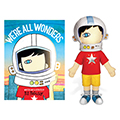 We're All Wonders Book and Doll SetNew!