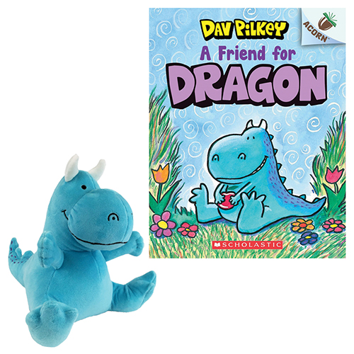 A Friend for Dragon Book and Plush SetNew!